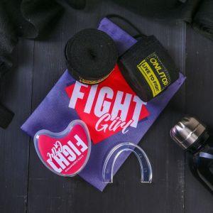 Набор для бокса «Борьба»: капа, бинты для бокса 2 шт. ? 4 м