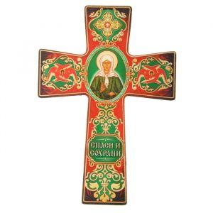 """Крест с подвесом """"Икона Матроны Московской"""" 838422"""