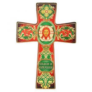"""Крест с подвесом """"Икона Спас Нерукотворный"""" 838425"""