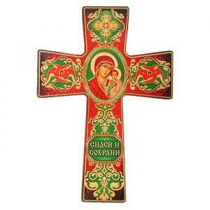 """Крест с подвесом """"Казанская икона Божией Матери"""" 838423"""