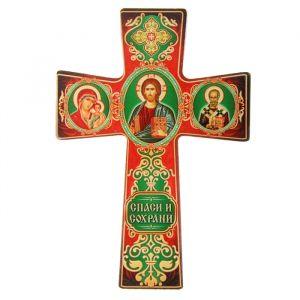 """Крест с подвесом """"Триптих"""" 838426"""