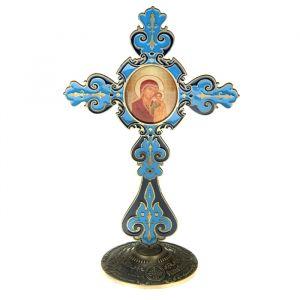 """Крест на подставке с иконой """"Икона Казанской Божьей Матери"""" 175958"""