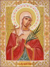 Икона Валентина Кесарийская мученица