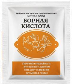 Удобрение «Борная кислота», 10 г.