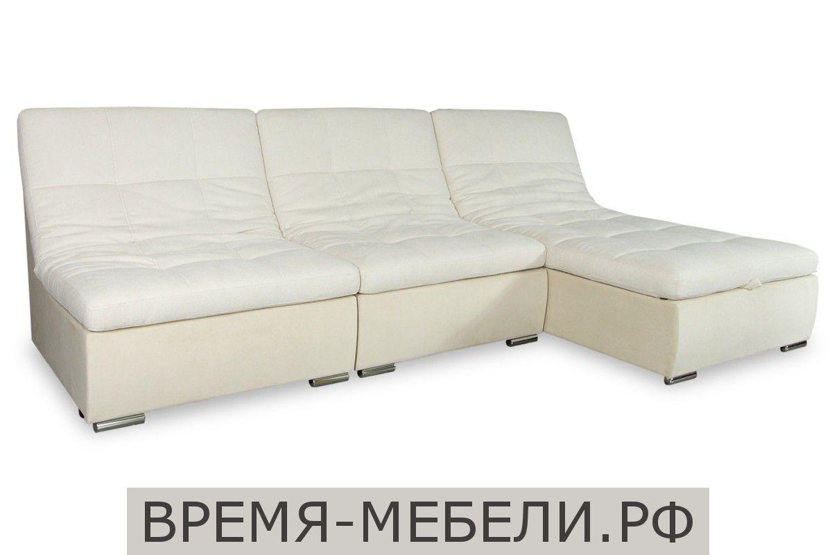 Модульный диван «Виктория (1Р+1Р+КП)» Dallas ivory