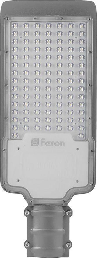 Светильник уличный консольный Feron SP2924 100W 3000K 230V, серый 32277