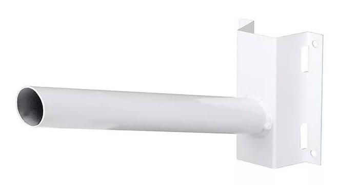 Кронштейн на столб Jazzway для PSL D40*1.5-WH белый под бандажную ленту