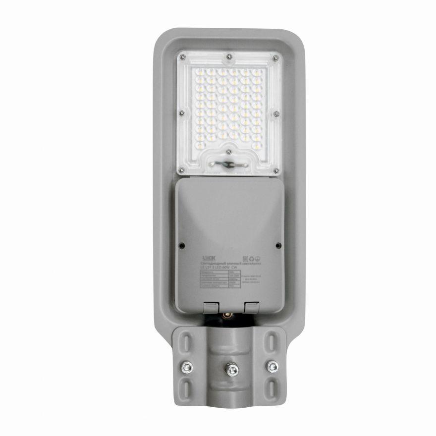 Светильник уличный консольный LEEK LE LST 3 LED 60W NT CW