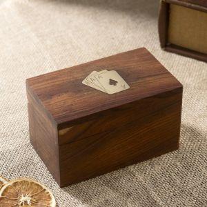"Сувенирный набор ""Две колоды карт"" 12,5х7,5х7,5 см   3520222"