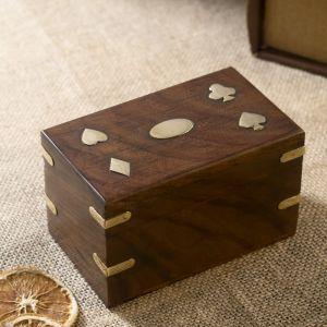 "Сувенирный набор ""Две колоды карт"" 13х8х8,5 см   3520223"
