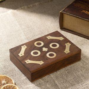 "Сувенирный набор ""Две колоды карт"" 16х11,5х3,5 см   3520221"