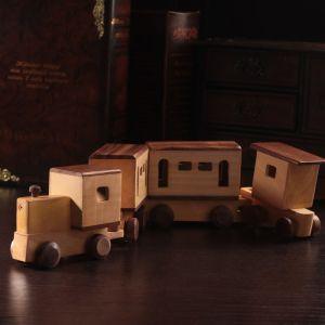 "Деревянный сувенир ""Поезд"" 50х5х8,5 см   4205802"