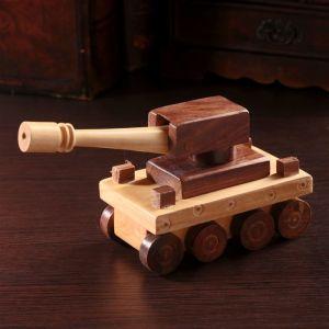 "Деревянный сувенир ""Танк"" 20х7х10 см   4205795"