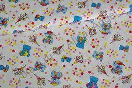 Медвеженок с конфетти  кулирка ринг