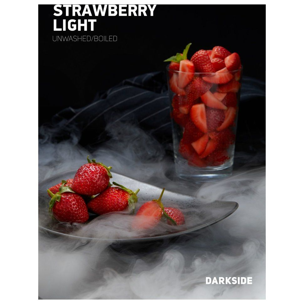 Табак Dark Side Soft - STRAWBERRY LIGHT (Клубника, 250 грамм)