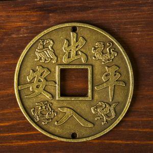 """Монета металл """"Драконы"""" d=6,3 см   3516546"""