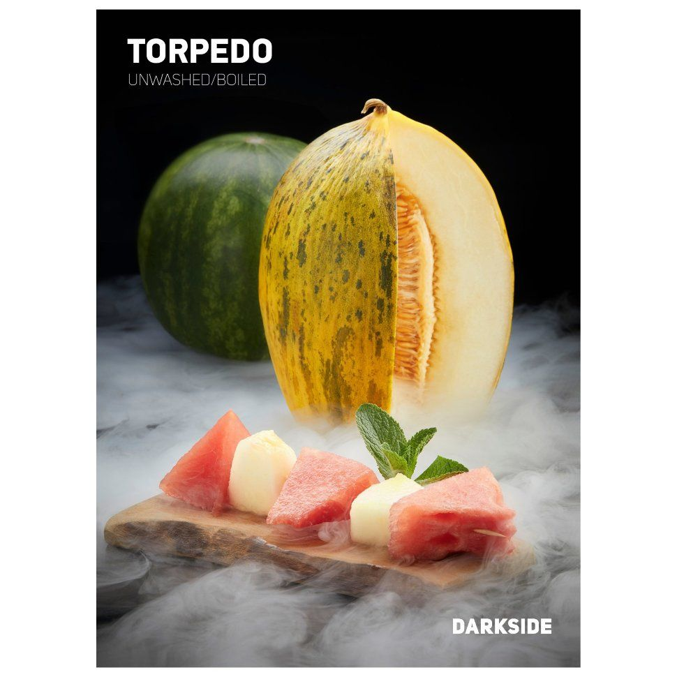 Табак Dark Side Soft - TORPEDO (Арбуз и Дыня, 250 грамм)