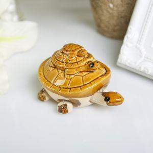 "Сувенир ""Пирамида из черепах"" 5х8х5,5 см"