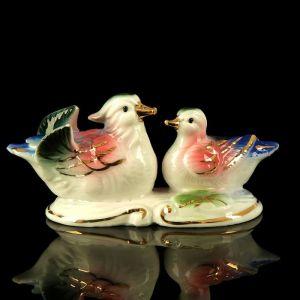 """Сувенир керамика """"Уточки-мандаринки в пруду"""" 4,5х3,5х9,5 см 2314087"""