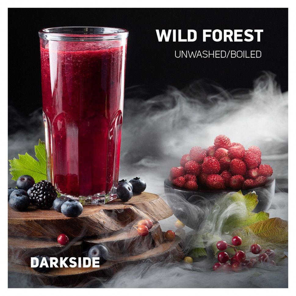 Табак DarkSide Medium - WILD FOREST (Дикий Лес, 250 грамм)