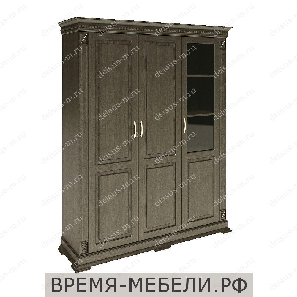 Шкаф трехстворчатый Верди-М 2 орех3