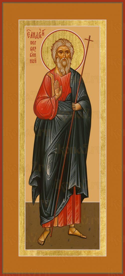 Икона апостол  Андрей Первозванный (мерная)