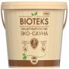Защитный Cостав для Бани и Сауны Текс Bioteks Эко-Сауна 0.9л Полуматовый, Термостойкий, Водорастворимый / Биотекс