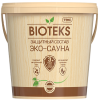 Защитный Cостав для Бани и Сауны Текс Bioteks Эко-Сауна 2л Полуматовый, Термостойкий, Водорастворимый / Биотекс