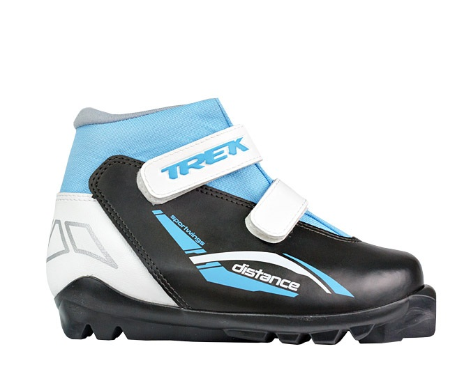 Лыжные ботинки TREK Distance иск.кожа SNS