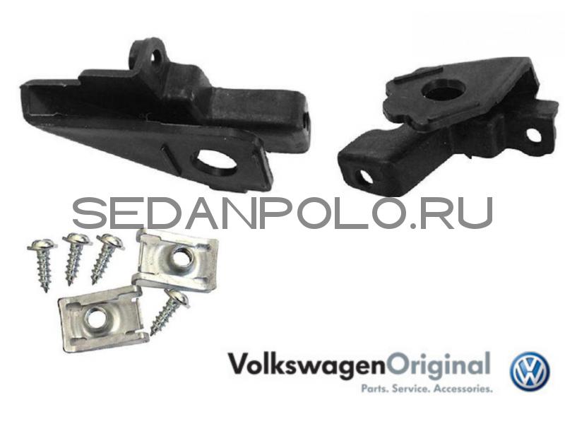Ремкомплект фары левой Volkswagen Polo Sedan Оригинал VAG