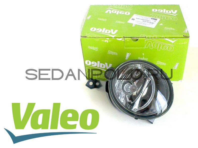 Фара противотуманная левая VALEO для Volkswagen Polo Sedan