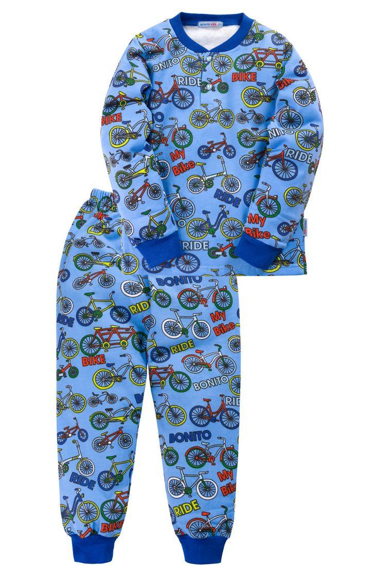 Пижама с начесом для мальчика Bike