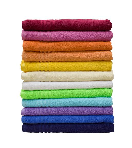 Махровое полотенце гладкокрашеное 50х90