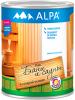 Лак для Бани и Сауны Alpa 0.75л Бесцветный, Полуматовый, на Водной Основе, Термостойкий
