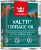 Масло для Террас и Садовой Мебели Tikkurila Valtti Terrace Oil 0.9л Атмосферостойкое / Тиккурила Валтти Террас Ойл