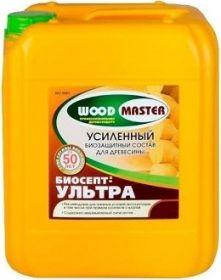 Биозащитный Состав Woodmaster Биосепт-Ультра 10кг для Усиленной Защиты Древесины / Вудмастер Биосепт-Ультра