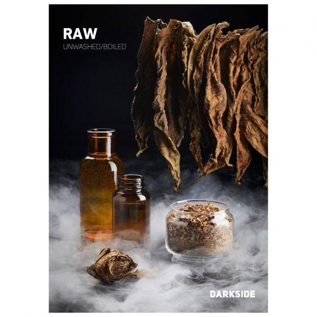 Табак DarkSide Rare - RAW (Не ароматизированный, высокая крепость, 100 грамм)
