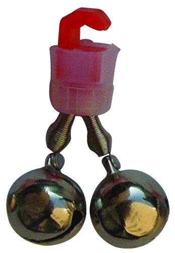 Бубенчик двойной  SWD 7002181 колокольчикп ластик крепление