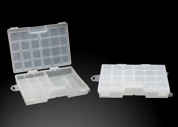 Коробка для приманок органайзер одинарный малый 250х175х40 Три Кита
