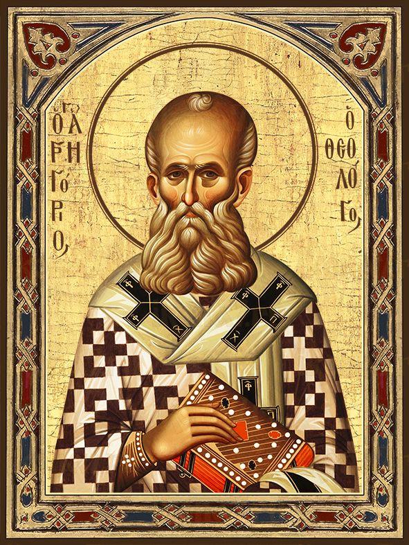 Икона Григорий Богослов святитель