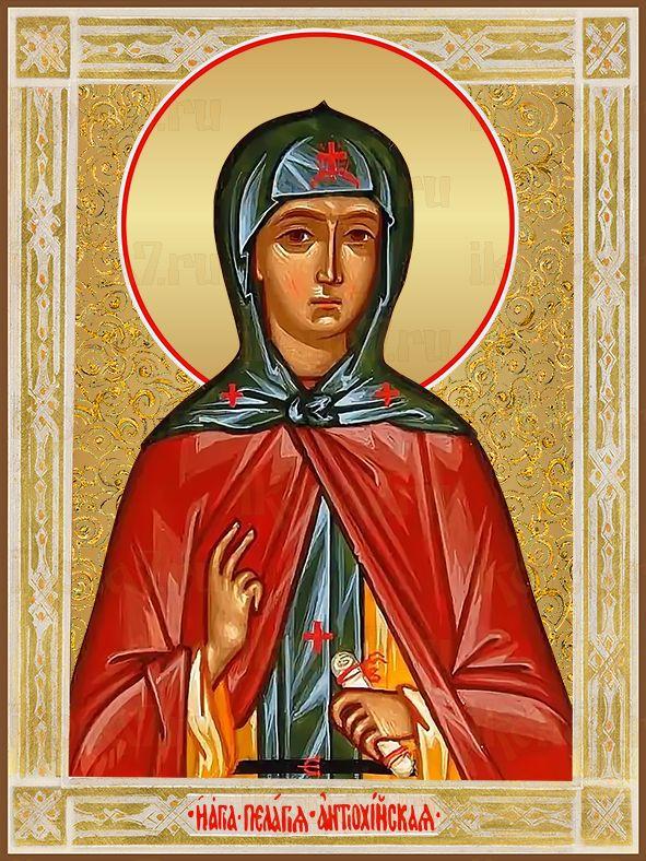 Икона Пелагея Антиохийская  преподобная