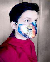 Трехслойные детские маски с героями мультфильмов. Купить в Москве, интернет магазин