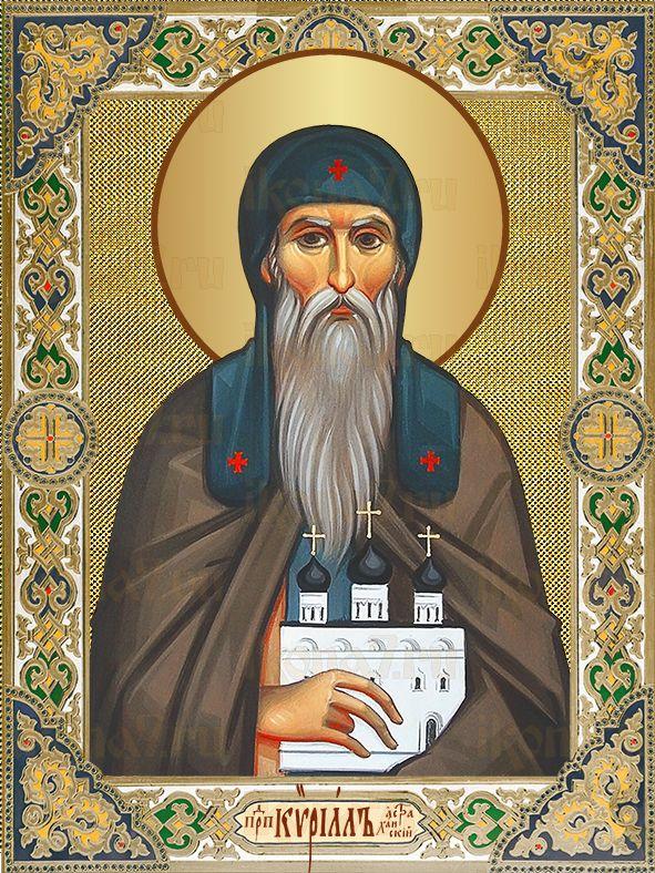Икона Кирилл Астраханский преподобный