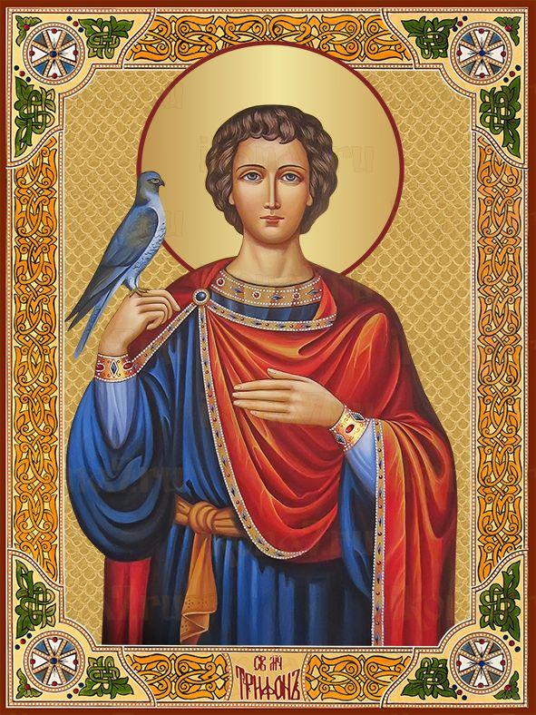 Икона Трифон мученик