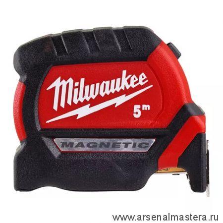 Рулетка магнитная MILWAUKEE GEN III 5 м / 27 мм 4932464599