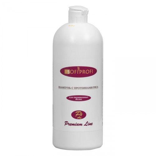 Шампунь для окрашенных волос с протеином риса 1000 мл