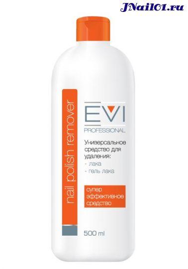 EVI professional, Универсальное средство для удаления лака и гель-лака, 500 мл