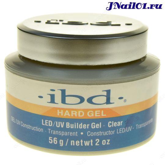 ibd, Конструирующий гель Hard Gel, прозрачный, 56 гр.