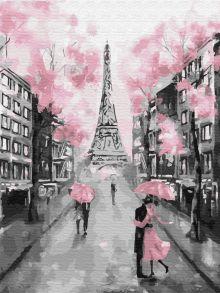 Картина по номерам «Гламурный Париж» 30x40 см