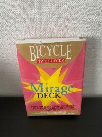 #НЕНОВЫЙ Bicycle Mirage Deck (красный, 3 крести)